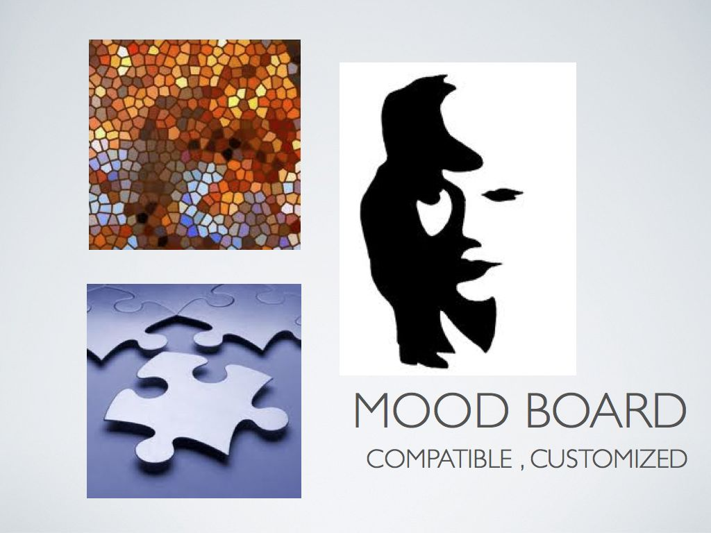 Mood Board: Compatible, Customized