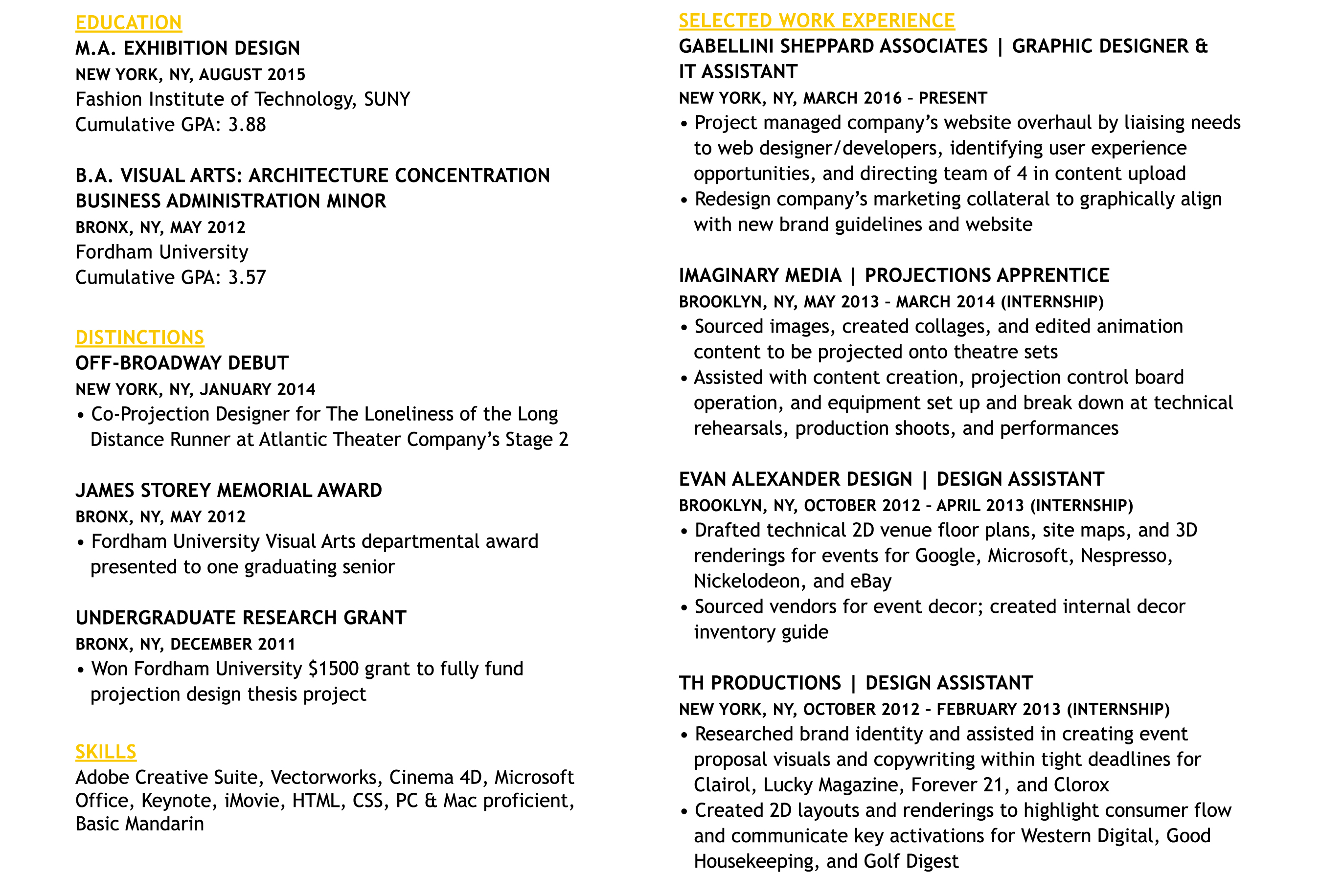 Image of Pauline Lu's Resume